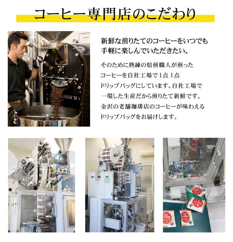 焙煎とドリップバッグ機械