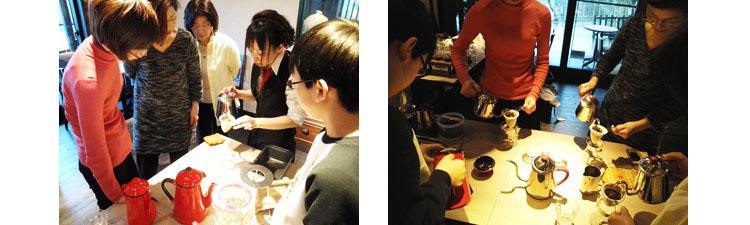 金澤屋珈琲店ネルドリップコーヒー教室イメージ02